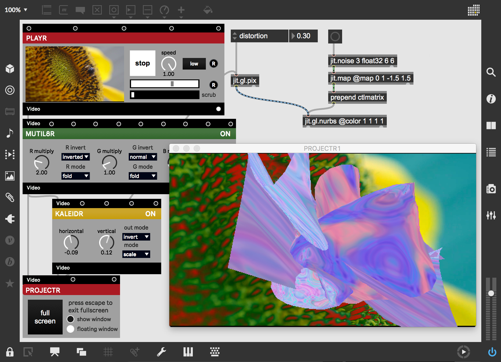 Whats New In Max 8 Cycling 74 Low Jitter Sige Vcsos Expand Beyond 2d By Mixing Vizzie Modules With Opengl Features